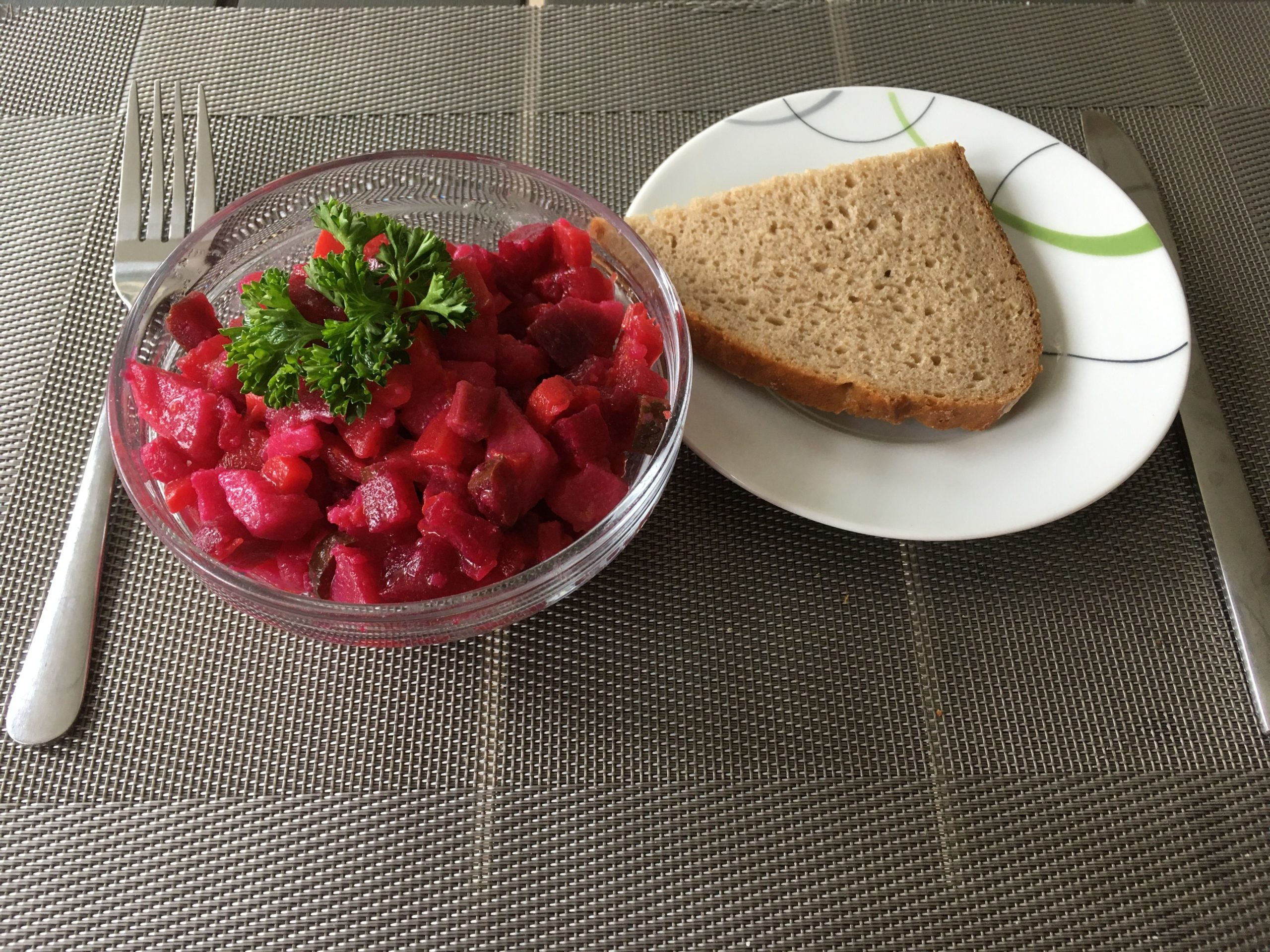 "Rote Bete Salat ""Vinegret"""