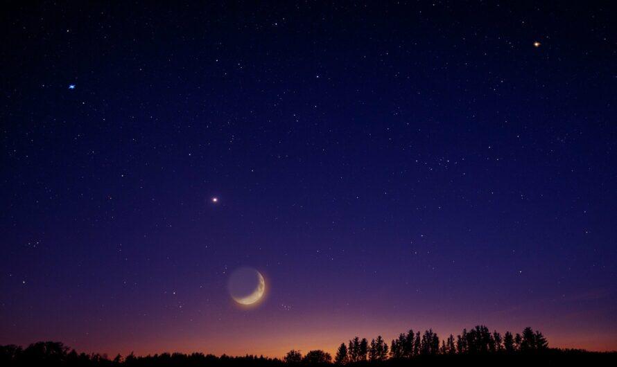 Das Treffen von Saturn und  Jupiter am 21.12. 2020
